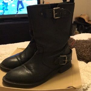 Zara Motorcycle Boot